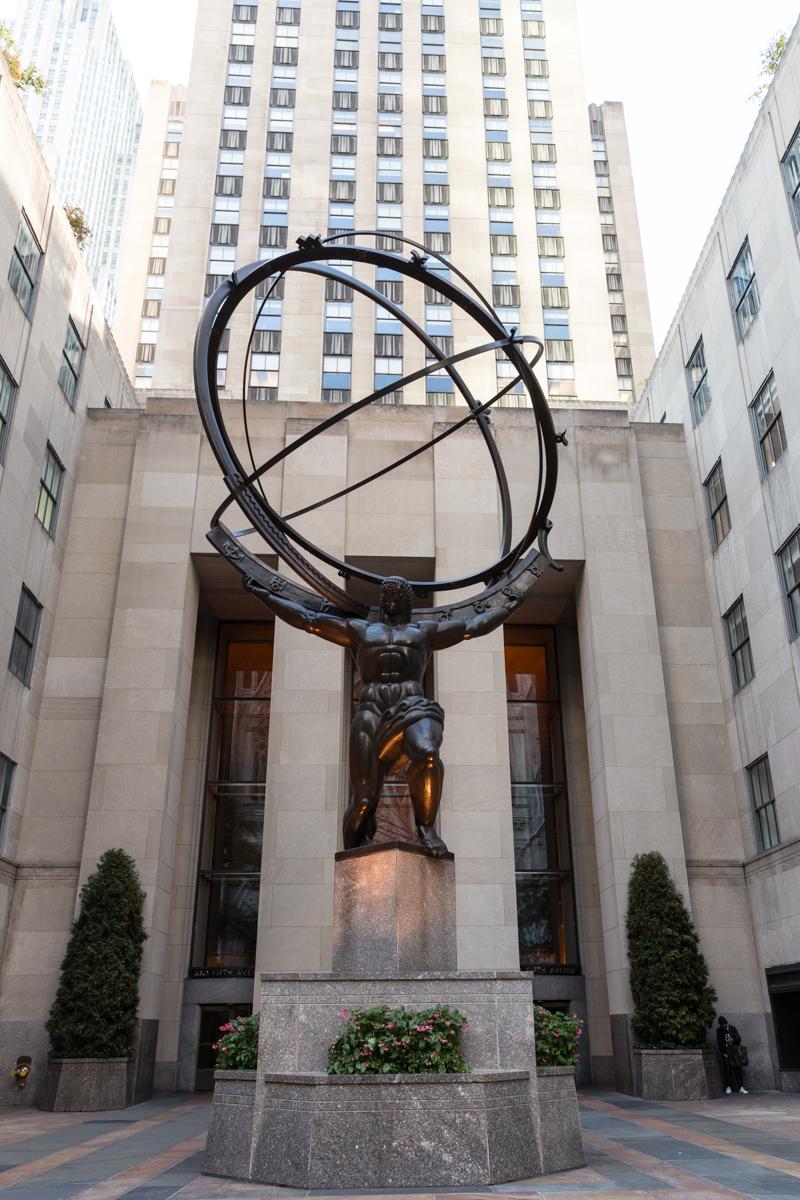 Rockefeller Center - Atlas Statue