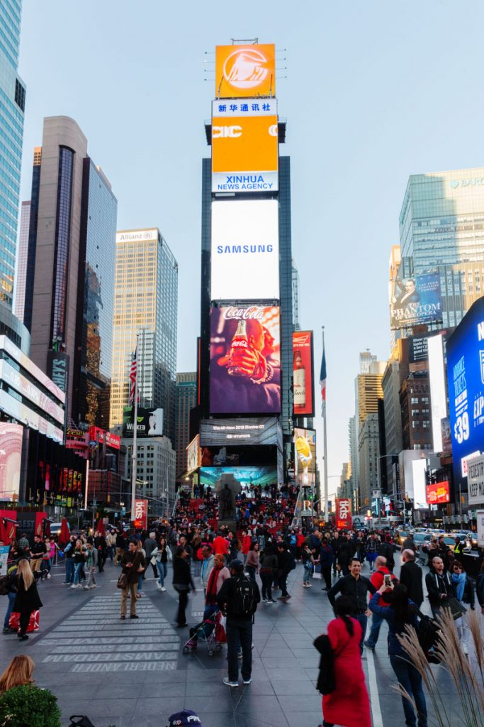 Steps to Times Square and the best of Broadway